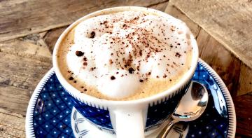 Бородач на кухні: крем із кави