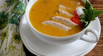 Чисто кухня: гарбузовий суп-пюре