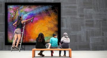 Бомба, Ракета, Позитив - чому не можна малювати на чужих картинах?